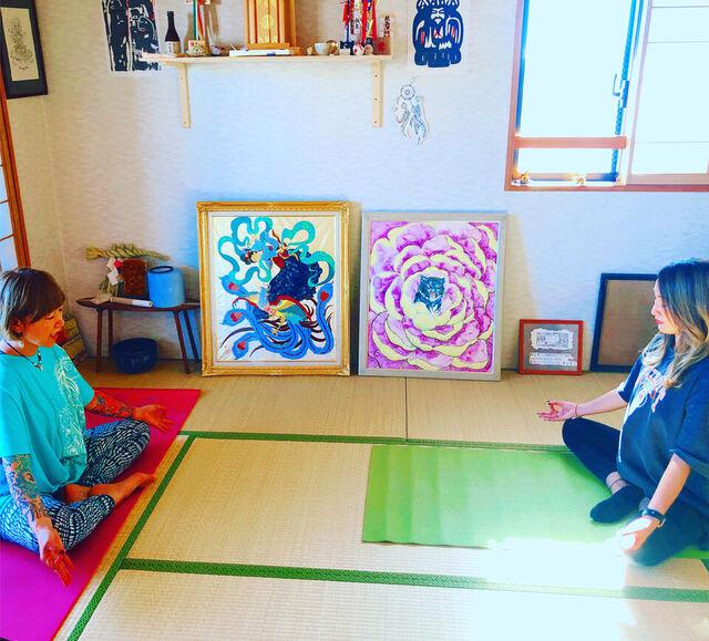ご紹介からの初yoga☆Aさん