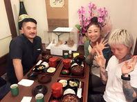 東京。代官山輪ーkgTATTOOからKOHKIさんが。