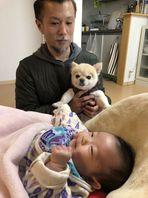 レイキの生徒さんの赤ちゃんに会いに行ってきました☺
