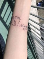 二回目のご来店、初tattoo後にご懐妊♡F様